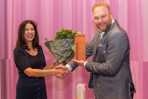 Alex de Jong <br>wint De Meester