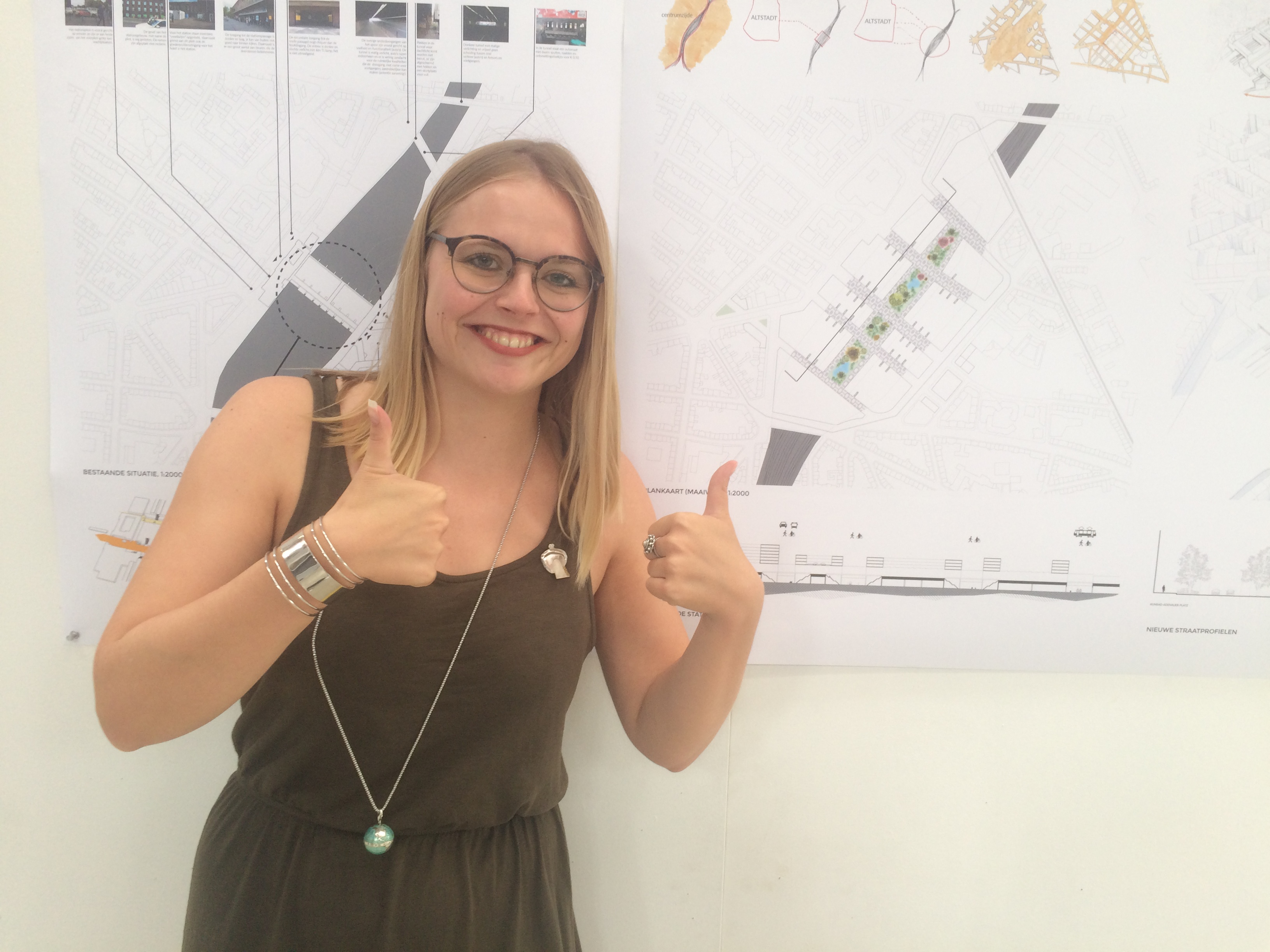Franca Houg wint Iktinos 2017 met innovatief ontwerp voor station Düsseldorf