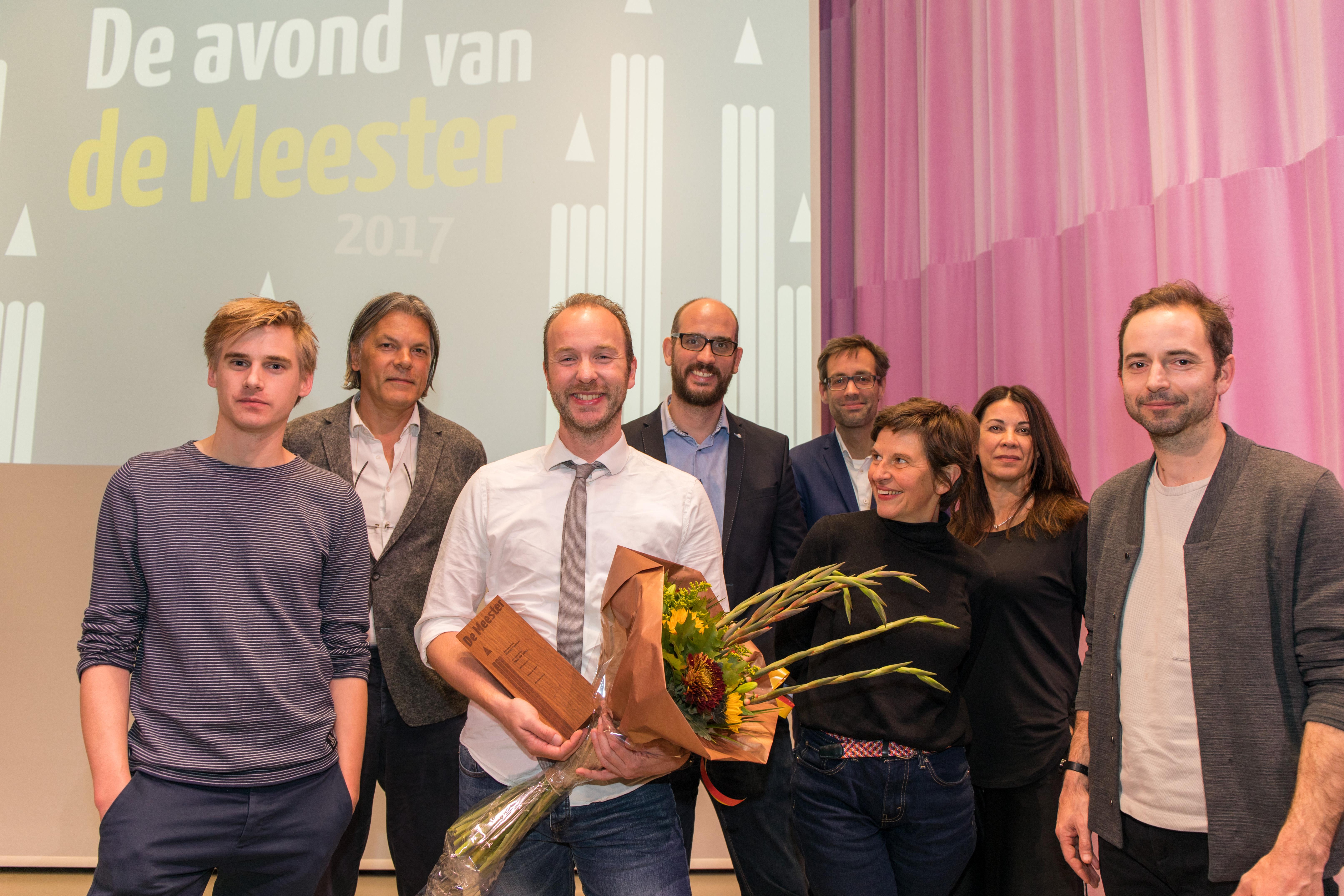 Jurgen ten Hoeve wint Rotterdamse promotieprijs De Meester 2017