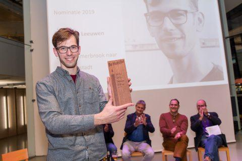 Ruud van Leeuwen wint Rotterdamse afstudeerprijs